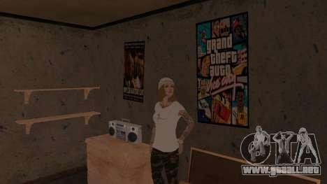Willy Wonky para GTA San Andreas sucesivamente de pantalla