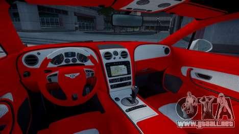 Bentley Continental GT Hamann Imperator para GTA 4