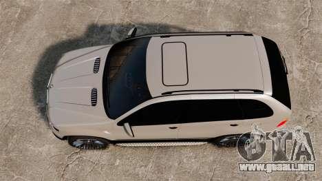 BMW X5 4.8iS v2 para GTA 4 visión correcta