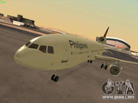 McDonell Douglas DC-10 Philippines Airlines para GTA San Andreas left