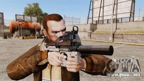 Belga FN P90 subfusil ametrallador v3 para GTA 4 tercera pantalla