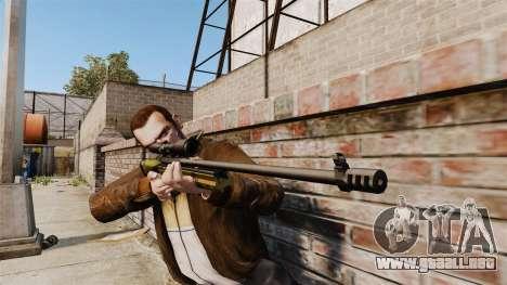 Rifle de francotirador Sako TRG-42 para GTA 4 tercera pantalla