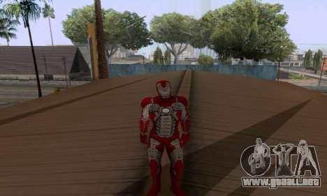 Skins Pack - Iron man 3 para GTA San Andreas octavo de pantalla