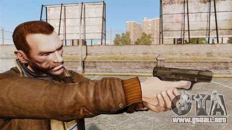 Walther P99 pistola semi-automática v4 para GTA 4