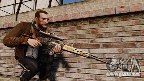 V4 de rifle de francotirador Dragunov para GTA 4
