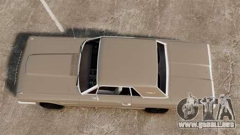 Ford Thunderbird 1964 para GTA 4 visión correcta