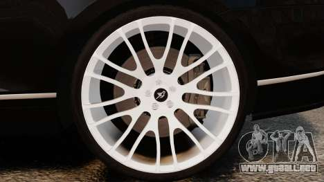 Bentley Continental GT Imperator Hamann EPM para GTA 4 vista interior