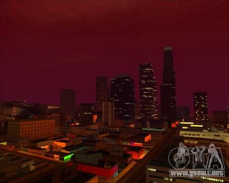 ENBSeries by MatB1200 para GTA San Andreas quinta pantalla