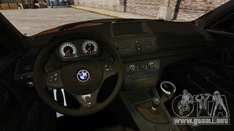 BMW 1M Coupe 2011 Fujiwara Tofu Shop Sticker para GTA 4 Vista posterior izquierda