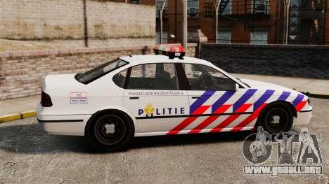 Policía holandesa para GTA 4 left