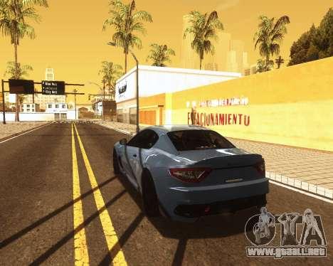 ENB for low PC v2 para GTA San Andreas tercera pantalla