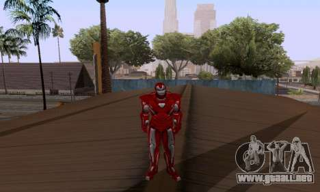 Skins Pack - Iron man 3 para GTA San Andreas sucesivamente de pantalla