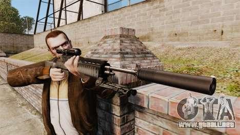M21 sniper rifle v1 para GTA 4 tercera pantalla