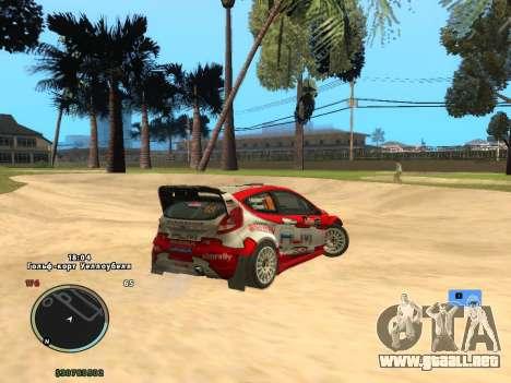 Ford Fiesta RS WRC para GTA San Andreas left