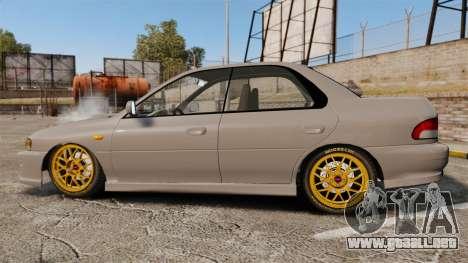 Subaru Impreza WRX STI 1999 [Final] para GTA 4 left