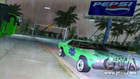 Dodge Monaco Police para GTA Vice City vista posterior