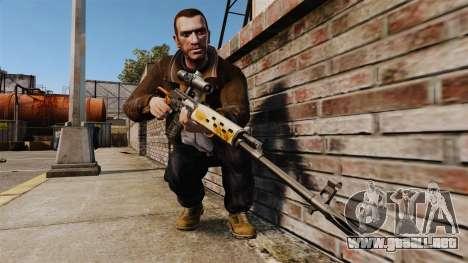 V4 de rifle de francotirador Dragunov para GTA 4 tercera pantalla