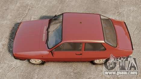 Dacia 1310 Sport v1.1 para GTA 4 visión correcta