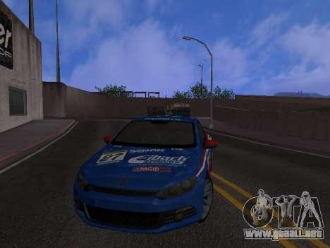 Volkswagen Scirocco para vista inferior GTA San Andreas