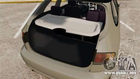 Daewoo Lanos FL 2001 para GTA 4 vista superior