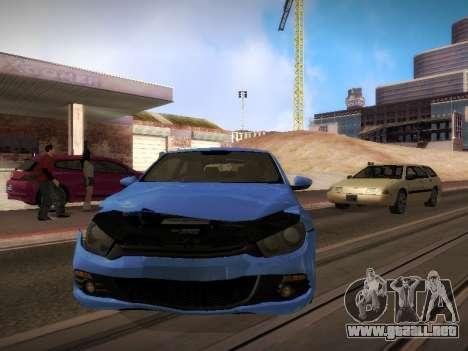 Volkswagen Scirocco para vista lateral GTA San Andreas