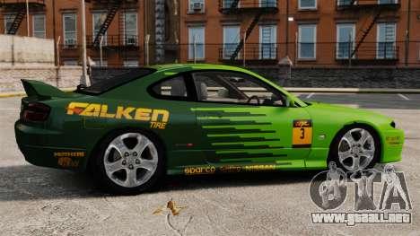 Nissan Silvia S15 v3 para GTA 4 left