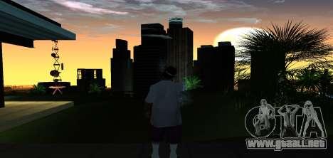 ENB Graphic Mod para GTA San Andreas segunda pantalla