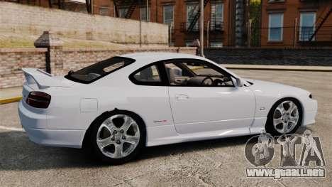 Nissan Silvia S15 v1 para GTA 4 left