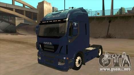 Iveco Stralis HI-WAY para GTA San Andreas