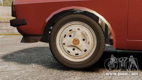 Dacia 1310 Sport v1.1 para GTA 4 vista hacia atrás