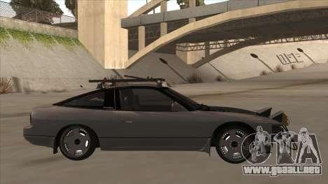 Nissan 240SX Rat para GTA San Andreas vista posterior izquierda