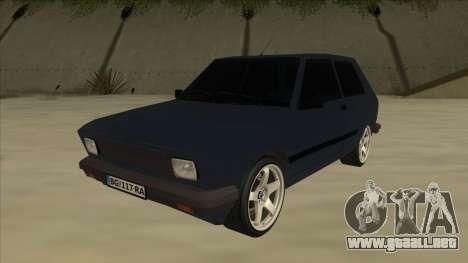 Zastava Yugo 1.1 para GTA San Andreas