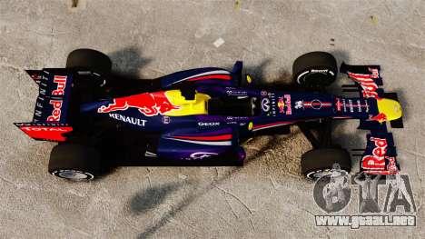 Coche, Red Bull RB9 v4 para GTA 4 visión correcta