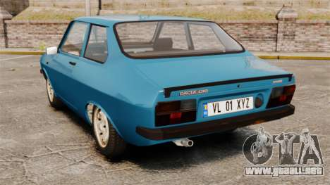 Dacia 1310 Sport v1.2 para GTA 4 Vista posterior izquierda