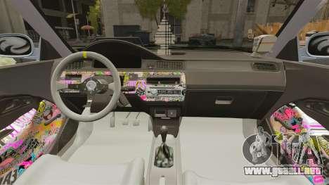 Honda Civic Gtaciyiz para GTA 4 vista interior
