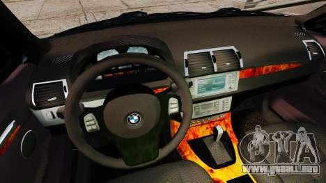 BMW X5 4.8iS v2 para GTA 4 vista superior
