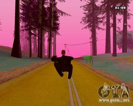 Pink NarcomaniX Colormode para GTA San Andreas sucesivamente de pantalla