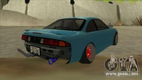 Nissan Silvia s14 Kouki Hellaflush para la visión correcta GTA San Andreas