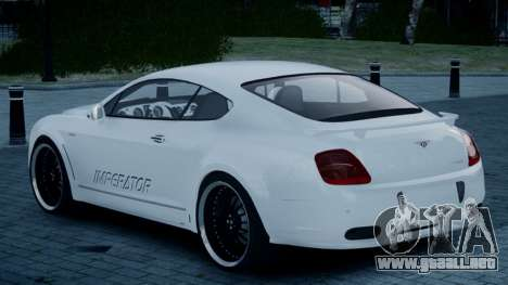 Bentley Continental GT Hamann Imperator para GTA 4 left