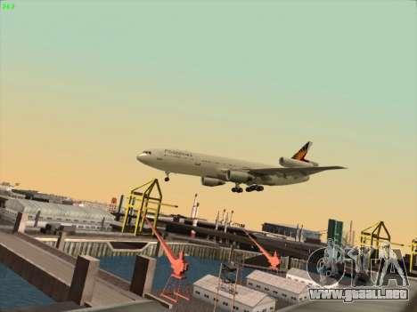 McDonell Douglas DC-10 Philippines Airlines para visión interna GTA San Andreas