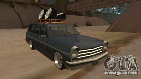 New Peren Hellaflush para GTA San Andreas left