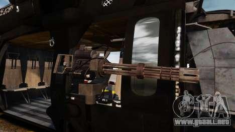Sikorsky MH-60L Black Hawk para GTA 4 vista interior