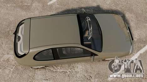 Daewoo Lanos FL 2001 para GTA 4 visión correcta
