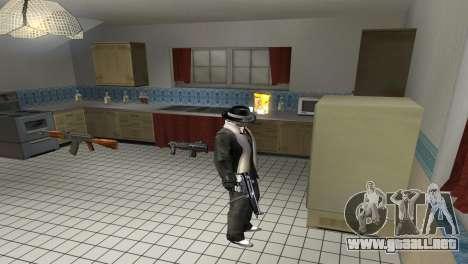 Full Weapon Pack para GTA San Andreas segunda pantalla
