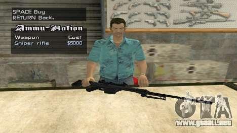 Full Weapon Pack para GTA San Andreas sexta pantalla