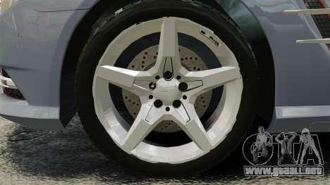 Mercedes-Benz SL500 2013 para GTA 4 vista hacia atrás