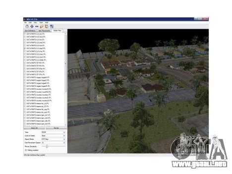 Map Editor 0.21b para GTA San Andreas