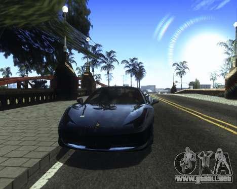 ENB for low PC v2 para GTA San Andreas sexta pantalla