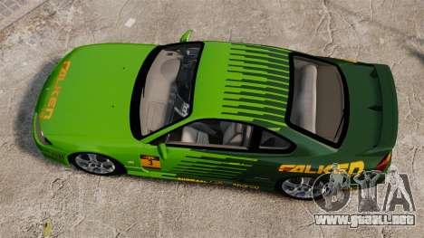Nissan Silvia S15 v3 para GTA 4 visión correcta