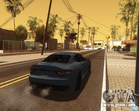 ENB for low PC v2 para GTA San Andreas quinta pantalla